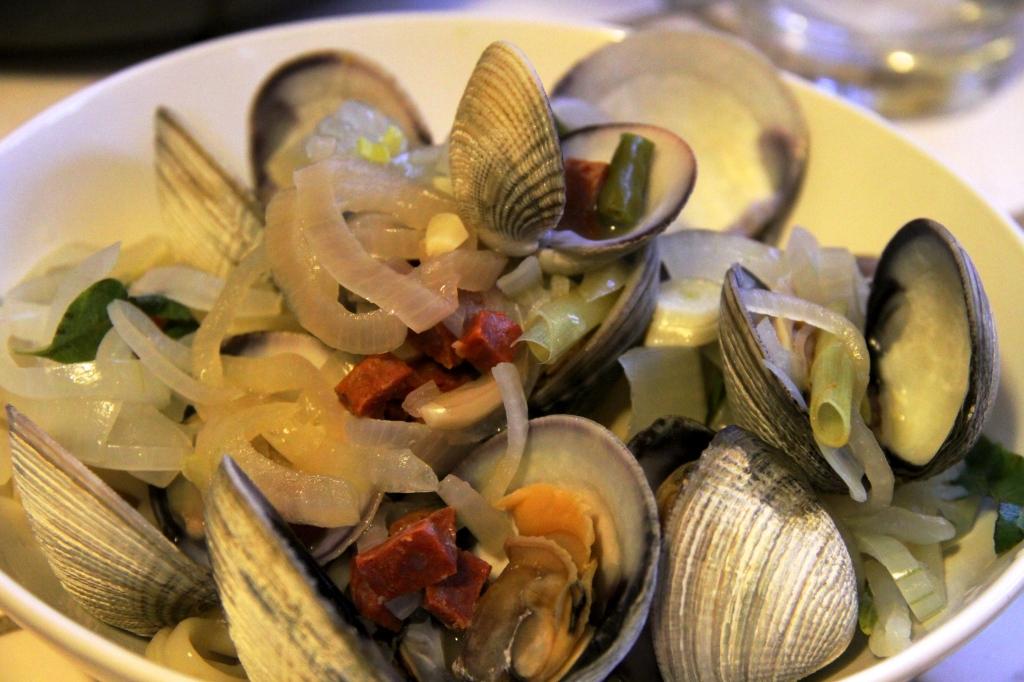 Kumamoto Oysters, Manila Clams:  Sunday Dinner