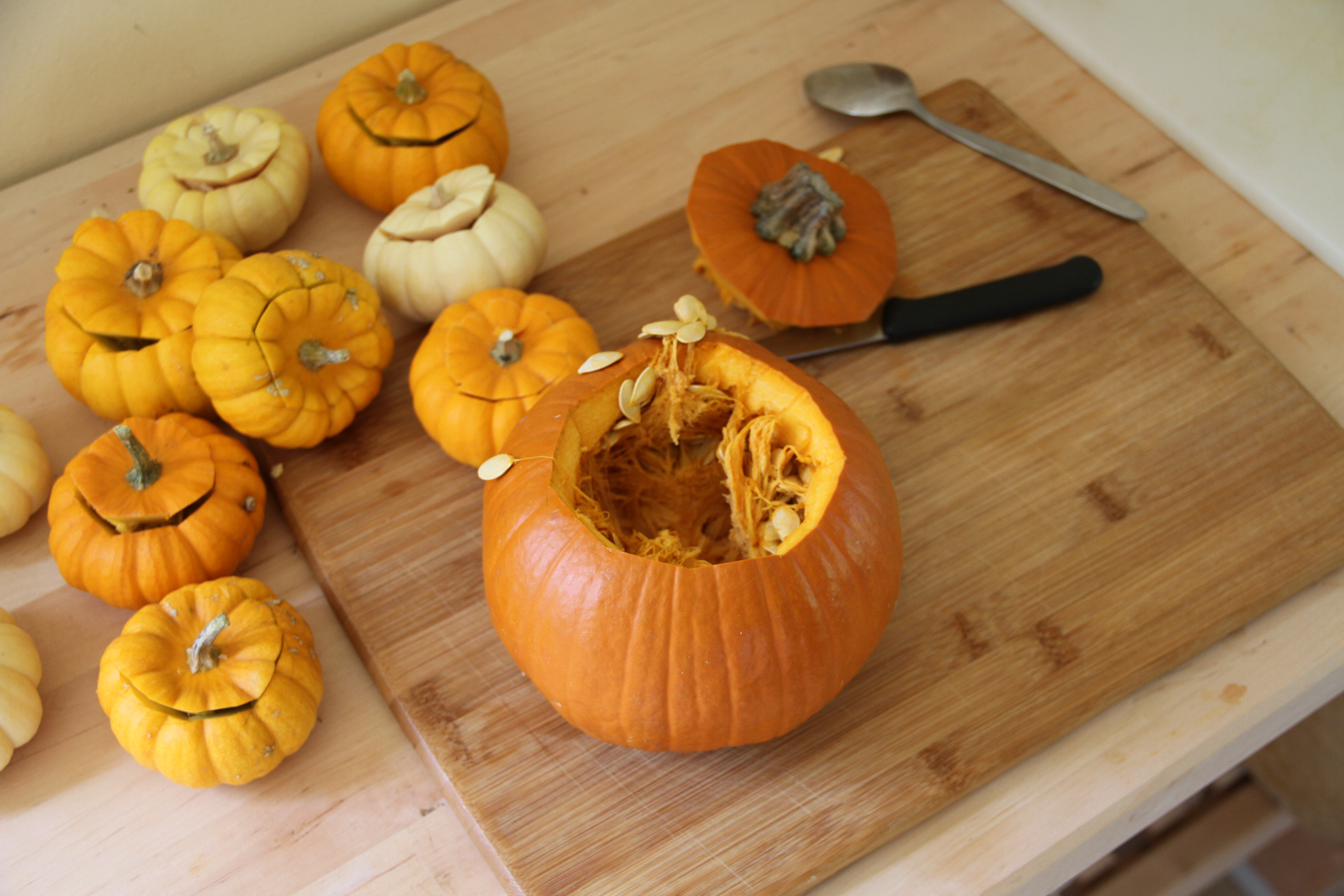 Thanksgiving: Stuffed Mini Pumpkins • My Well Seasoned Life