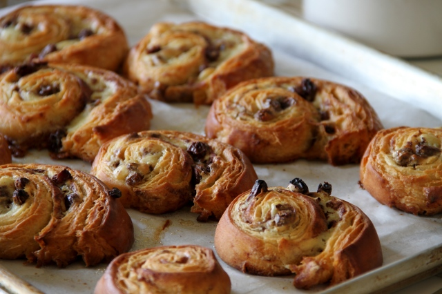 Cinnamon Raisin Danish:  A Labor of Love